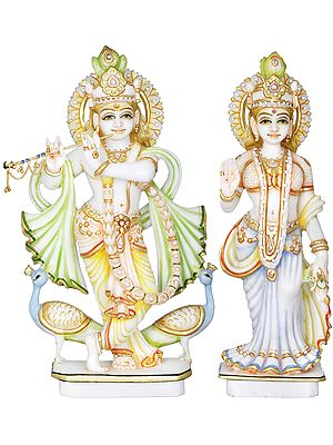 The Divine Lovers - Radha Krishna