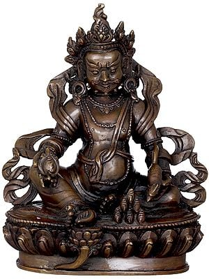 Kubera - God of Wealth and Prosperity (Made in Nepal)