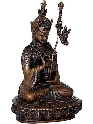 Tibetan Buddhist Deity Padmasambhava - Made in Nepal