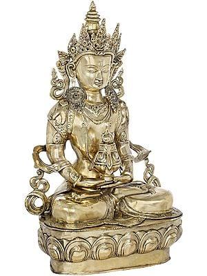 Large Size Amitabha Buddha with The Vase of Immortality - Tibetan Buddhist