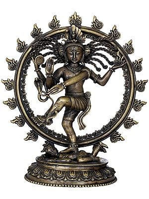 The Flying Plaits Of Lord Nataraja
