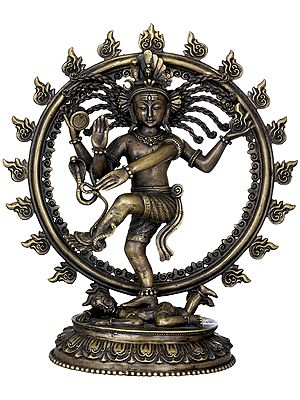 Nataraja with Hair Like Rope - Made in Nepal