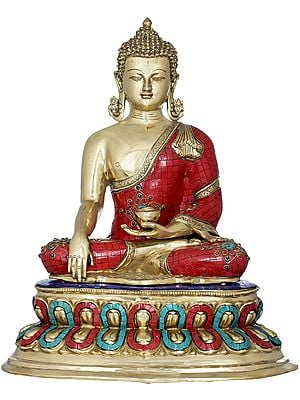 The Radiant Buddha, Seated on Double Lotus (Tibetan Buddhist)