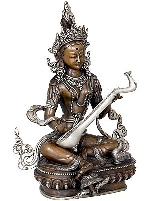 Goddess Saraswati - Made in Nepal