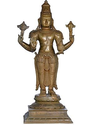 Fine Dhanvantari - The Physician of the Gods (Holding the Vase of Immortality)
