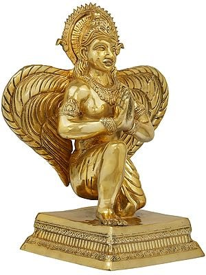 Namaskaram Lord Garuda With The Majestic Wings