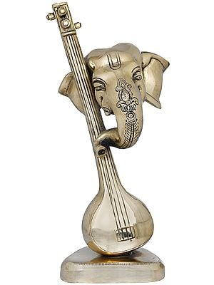 Stylized Musical Ganesha