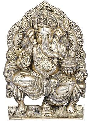 Raja Ganesha Wall Hanging