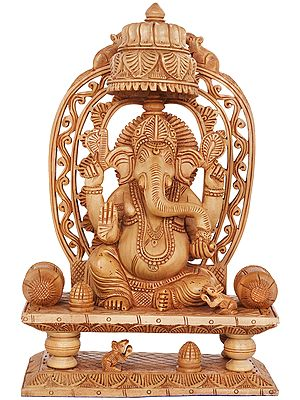 Throne Ganesha
