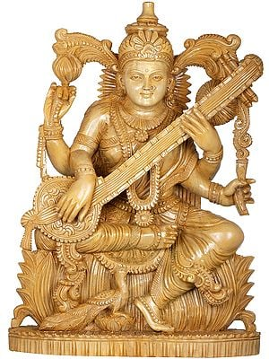 Saraswati - The Goddess of Art, Music and Wisdom