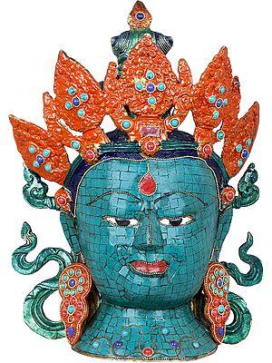 Goddess Tara Head - Tibetan Buddhist