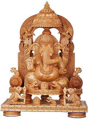 The Royal Durbar of King Ganesha