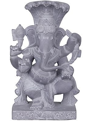 Nritya Ganesha with Sheshanaga Canopy