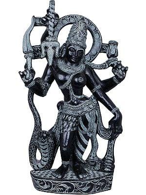 Ardhanarishvara in Tribhanga