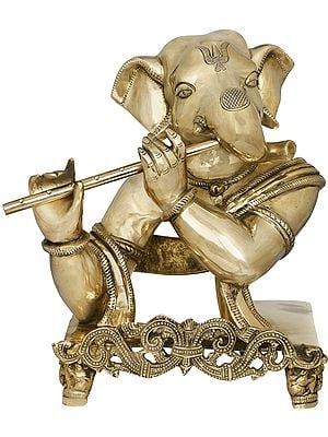 The Flutist Ganesha