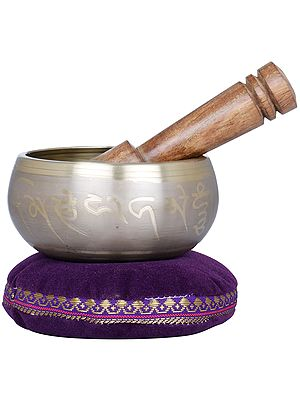 Five Dhyani Buddhas Singing Bowl - Tibetan Buddhist