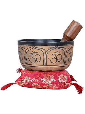 OM Ganesha Singing Bowl - Tibetan Buddhist