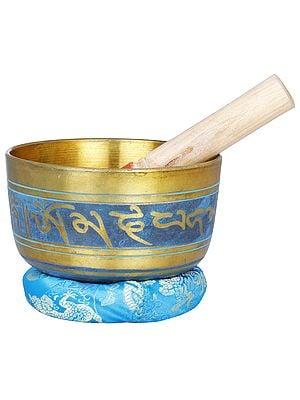 Lord Buddha Singing Bowl - Tibetan Buddhist