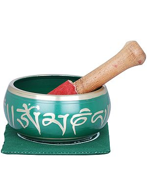 Earth Touching Buddha Singing Bowl - Tibetan Buddhist