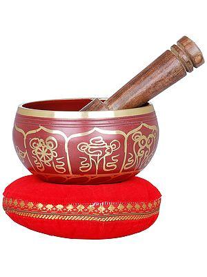 Vishva-Vajra Singing Bowl - Tibetan Buddhist