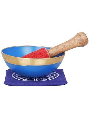 Tibetan Buddhist Yoni Singing Bowl