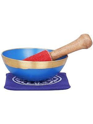 Tibetan Buddhist Yoni Singing Bowl