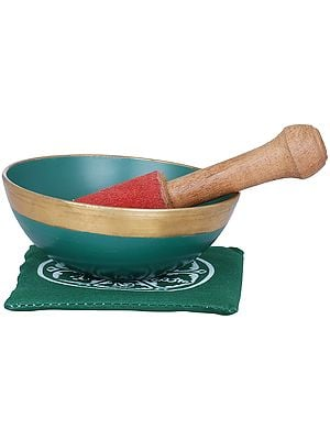 Tibetan Buddhist Lotus Singing Bowl