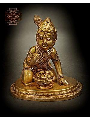 Krishna - The Makhan Chor (Butter Thief)