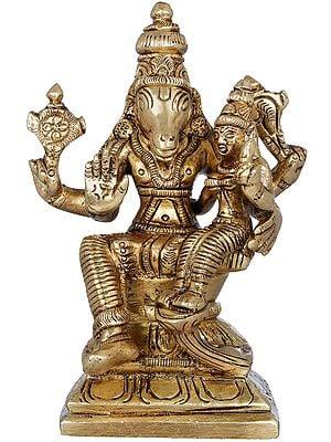 Bhagawan Varaha with Devi Bhudevi