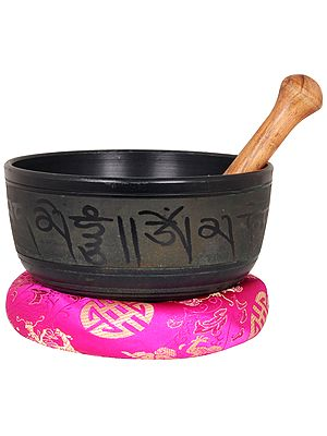 Tibetan Buddhist Lord Buddha Singing Bowl