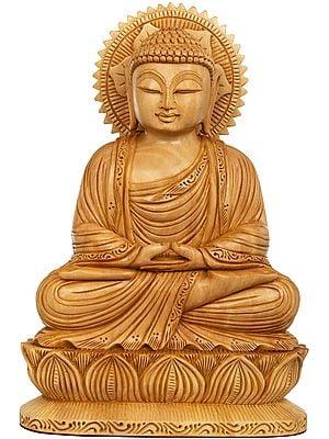 Tibetan Buddhist Lord Buddha in Dhyana