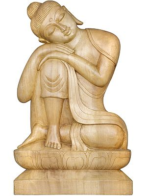 Seated Buddha, At Once Carefree And Contemplative