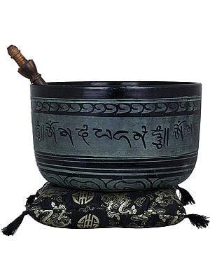 Lord Buddha Singing Bowl with Auspicious Mantras