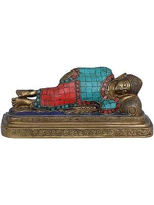 Mahaparinirvana Buddha - Tibetan Buddhist