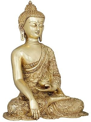 Tibetan Buddhist Lord Buddha with Begging Bowl