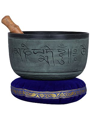 Om Mani Padme Hum Tibetan Buddhist Singing Bowl