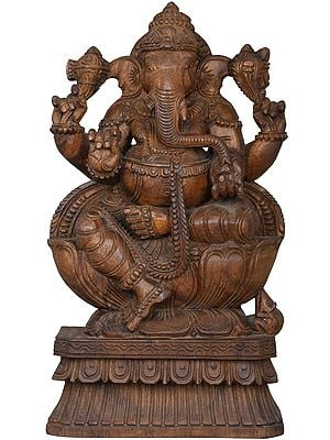 Padmasana Lord Ganesha