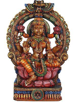 Lotus Aureole Devi Lakshmi