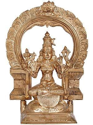 Goddess Rajarajeshwari (Tripura Sundari) One of the Ten Mahavidyas