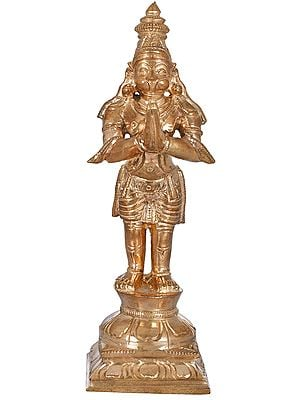 Shri Hanuman in Namaskaram Mudra