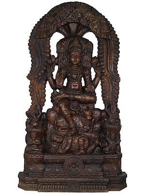 Large Dakshinamurti Shiva