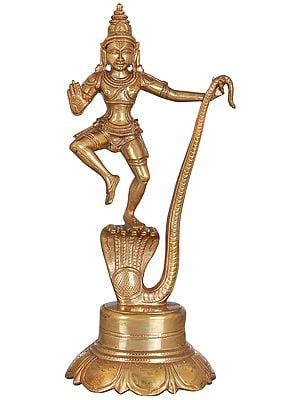 Krishna Triumph Over Serpant Kaliya