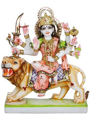 The Serenity Of Devi Durga