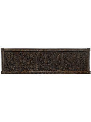 Large Pancha Ganesha Panel