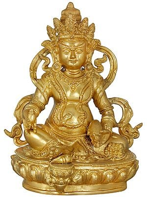 Tibetan Buddhist God Of Wealth - Kubera