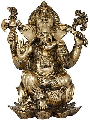 Richly Ornamented Lord Ganesha