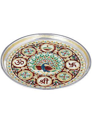OM Shri Puja Thali