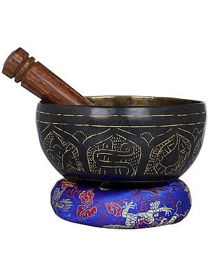 Tibetan Buddhist Small Singing Bowl