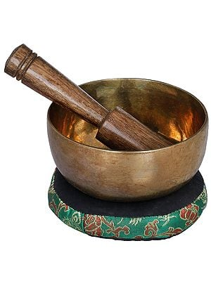 Tibetan Buddhist Small Singing Bowl