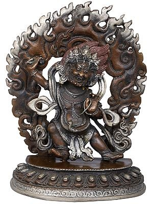 Tibetan Buddhist Deity Vajrapani - Made in Nepal